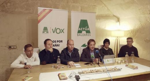 Imagen de la presentación del Comité Insular.