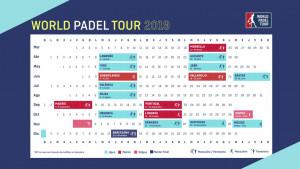 Calendario de torneos.