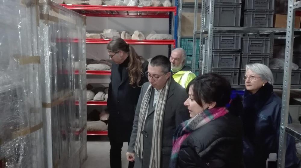 El conseller Miquel Àngel Maria ha visitado las instalaciones esta mañana
