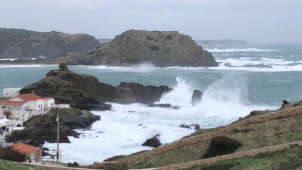 El viento del norte soplará fuerte este viernes (Foto: Tolo Mercadal)