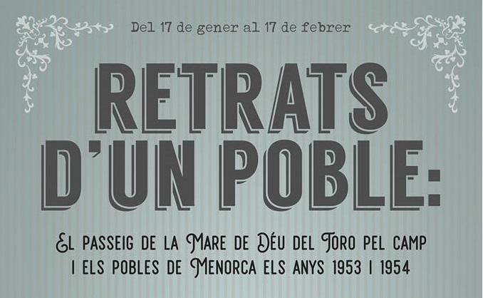 La exposición se puede ver en Ciutadella hasta el 17 de febrero