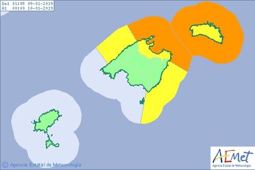 La ola de frío se acerca a Menorca