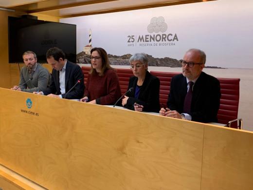Las autoridades han presentado el Plan de Adecuación Ambiental de la Central Térmica de Maó