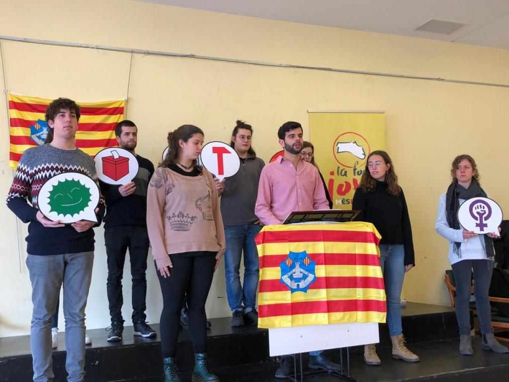 Presentación del colectivo Força Jove de Menorca