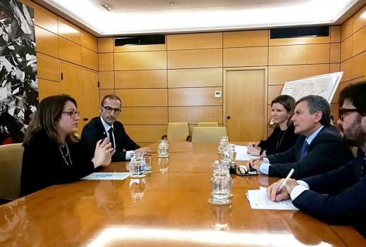 Imagen de la reunión mantenida esta mañana en Madrid