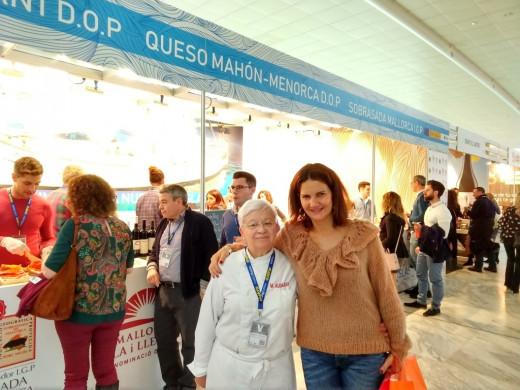 Los famosos disfrutan del queso Mahón-Menorca