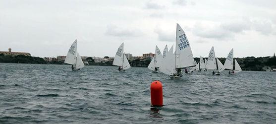 Imagen de las regatas.