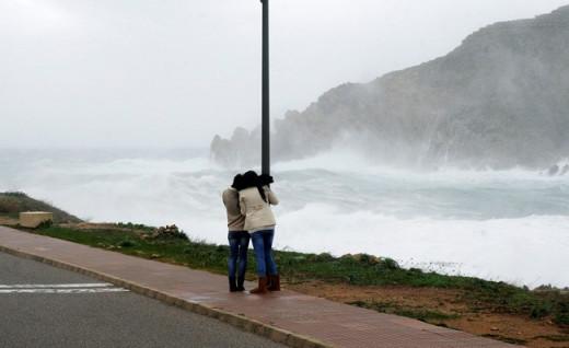 Cuidado en la costa.