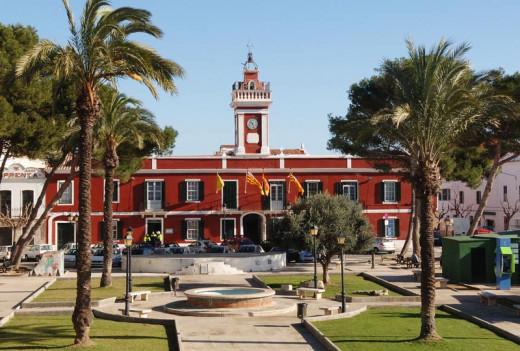 Ajuntament d'Es Castell.