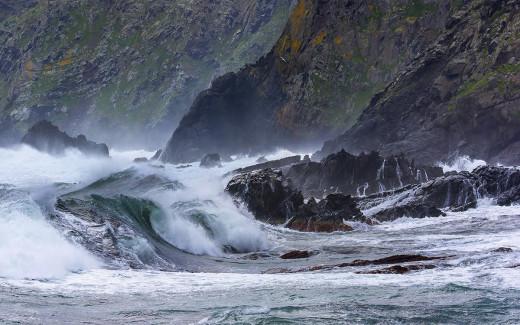 Se ha cancelado el tráfico marítimo por el temporal (Foto: Mikel Llambias)