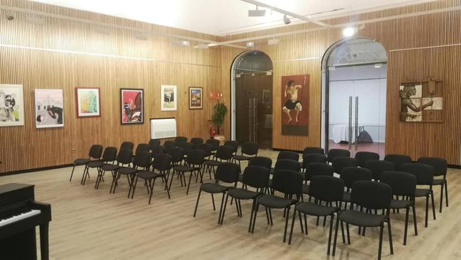 Imagen de la renovada sala (Fotos: Ajuntament de Maó)