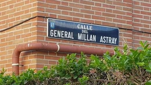 Calle del General Millán Astray.