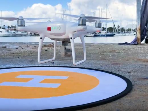 (Fotos) Drones para controlar el puerto de Maó