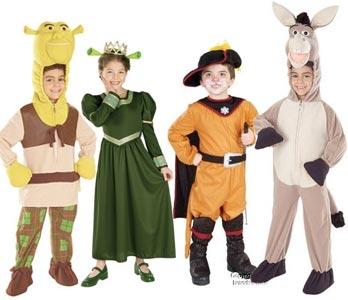 Disfraces infantiles.