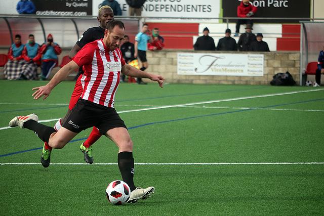 José Enrich, autor del gol del empate.