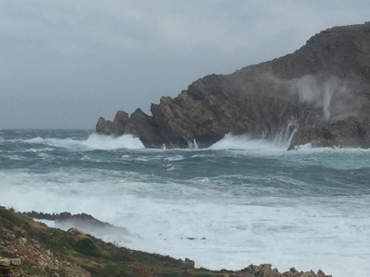 El viento continuará pero no hay previsión de hoy este lunes