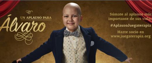 Imagen de la campaña de Juegaterapia