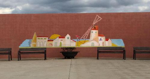 Imagen del mosaico (Foto: Ajuntament de Ciutadella)