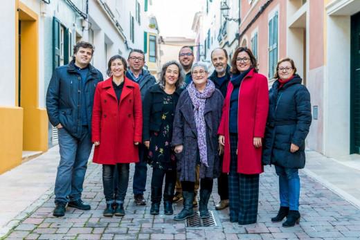 Imagen de los miembros de Junts per Lô que formaron parte de la candidatura municipal