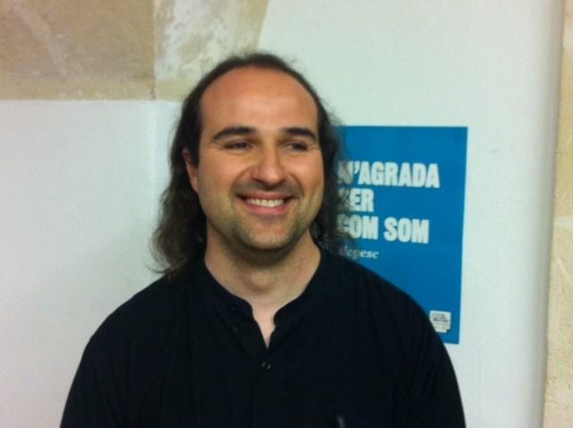 Juanmi Gomila estará en la lista al Consell de Menorca por EU (Foto: web EU Balears)