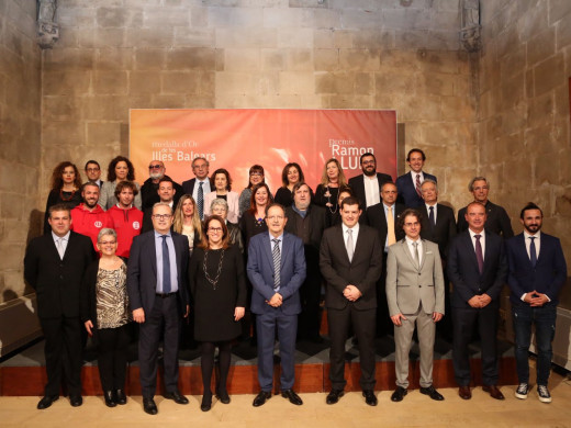 (Fotos) Dos nuevos Ramon Llull para Menorca
