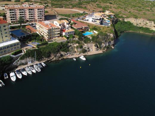 Muelle de ses Figuerasses, en el puerto de Maó (Foto: APB)