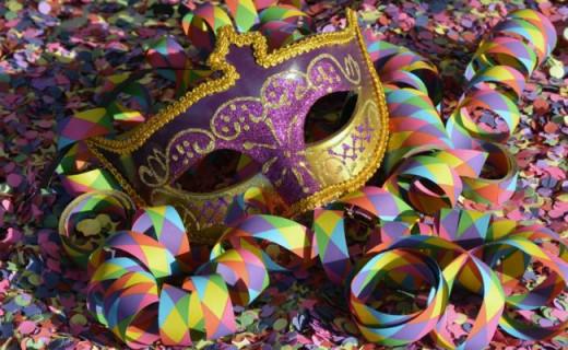 Máscara de Carnaval.