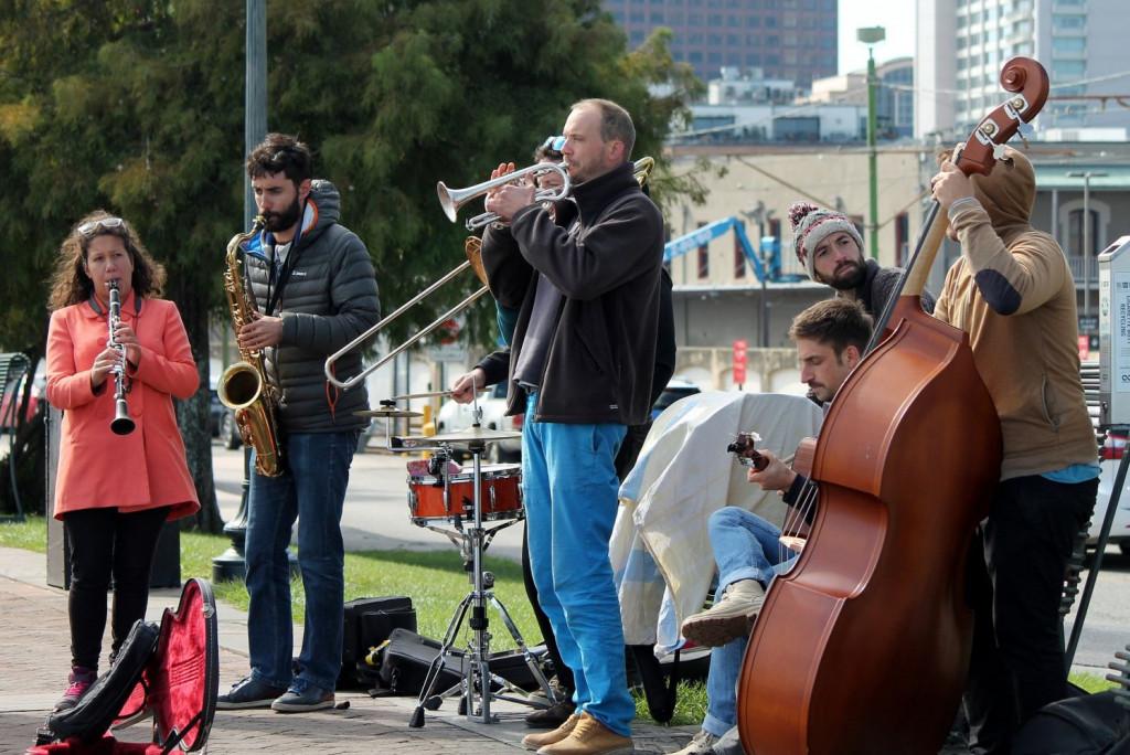 En Nueva Orleans se estilan los velatorios con música de jazz