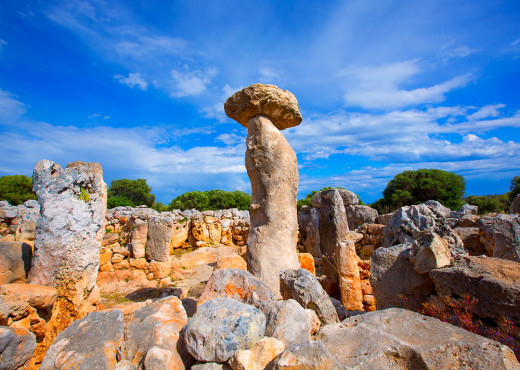 El poblado de Torre d'en Galmés es el más visitado