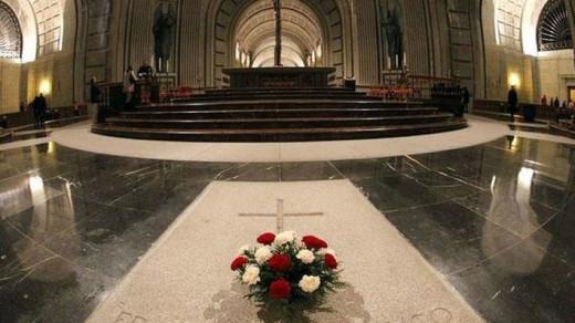 Imagen de la tumba de Franco en el Valle de los Caídos