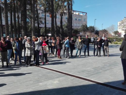 (Fotos) Un centenar de personas en la lectura del Manifiesto por el Día de la Mujer