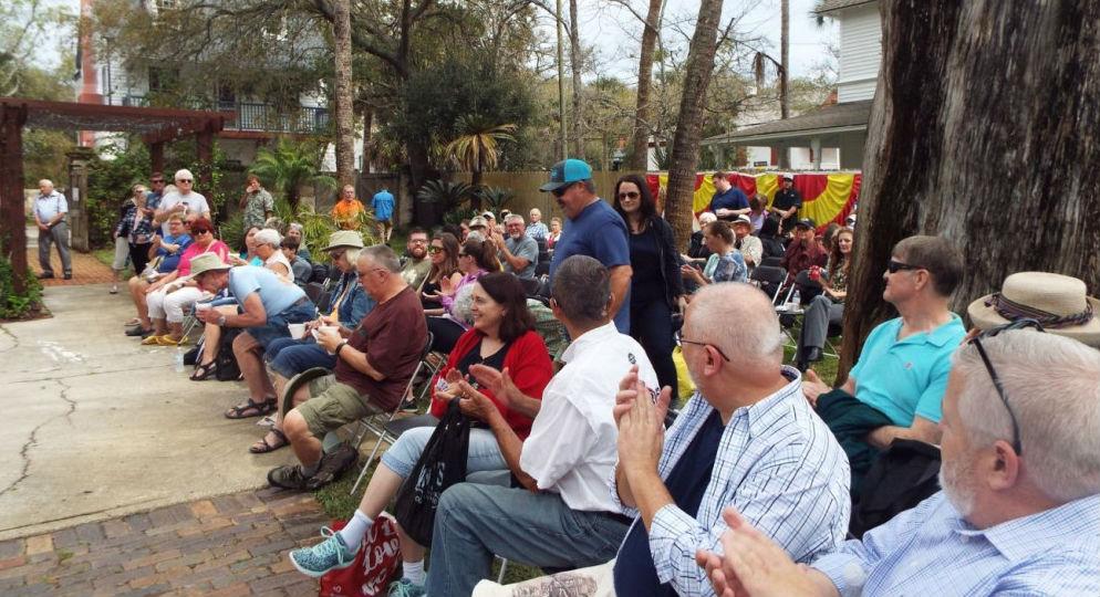 Uno de los momentos del evento anual que celebra los orígenes menorquines de una parte importante de San Agustín.