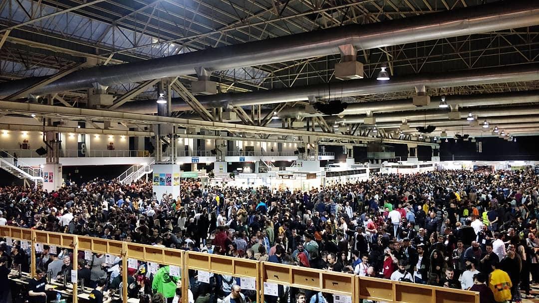 35.000 personas pasaron por el festival cervecero de Barcelona.