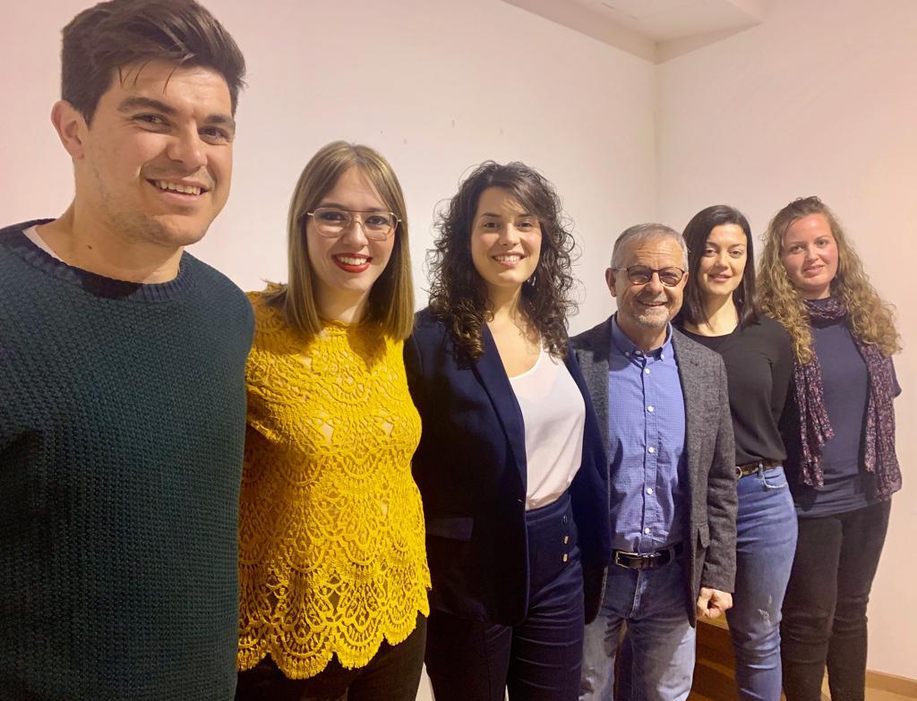 Miembros de la candidatura socialista para el Ayuntamiento de Ciutadella