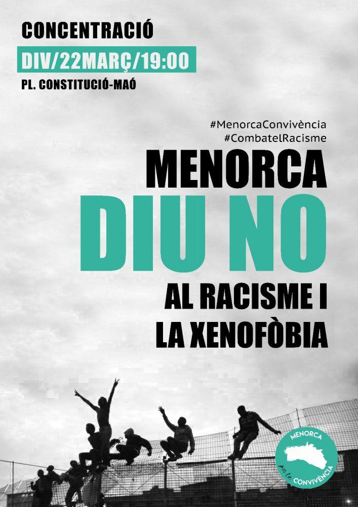 Contra el racismo.