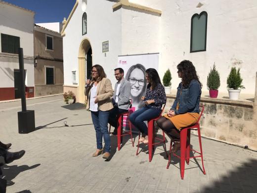 (Vídeo y fotos) El PSOE Menorca muestra sus cartas
