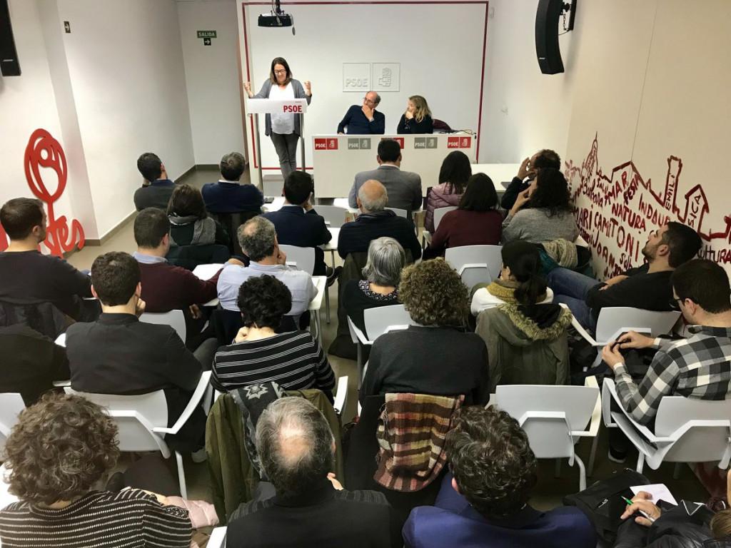 Reunión de la Comisión Ejecutiva y el Comité Insular (Foto: PSOE Menorca)