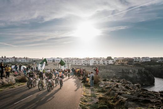 Una de las imágenes de la jornada. (Foto: Jordi Saragossa)