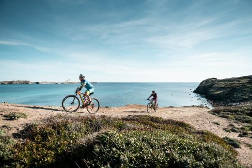 Tramo en bicicleta durante la prueba (Foto: Oriol Batista)