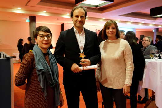 Premio periodístico.