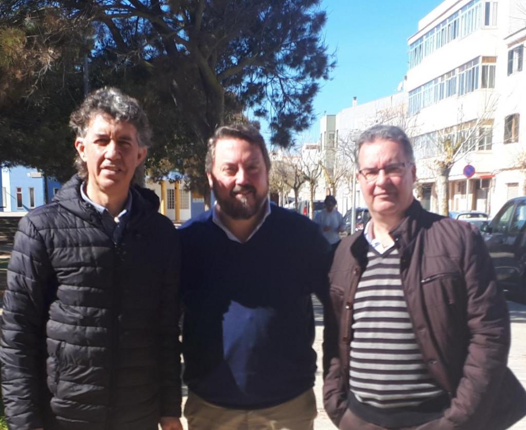 Marqués y Moll, junto a Antoni Camps.