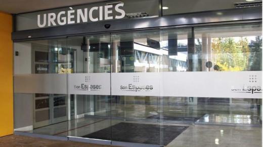 La niña permaneció en la UUCI del Hospital de Son Espases hasta el sábado pasado
