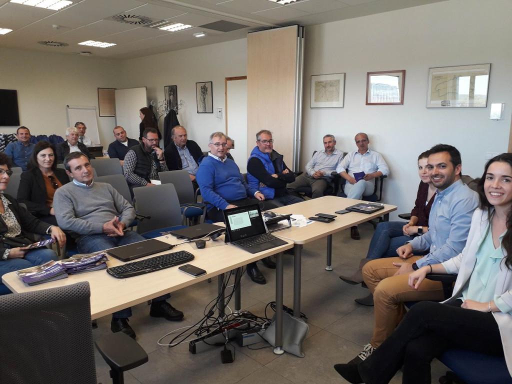 Imagen de la reunión celebrada esta mañana