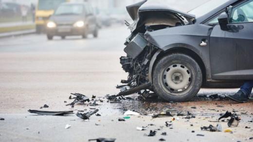 Imagen de un accidente.
