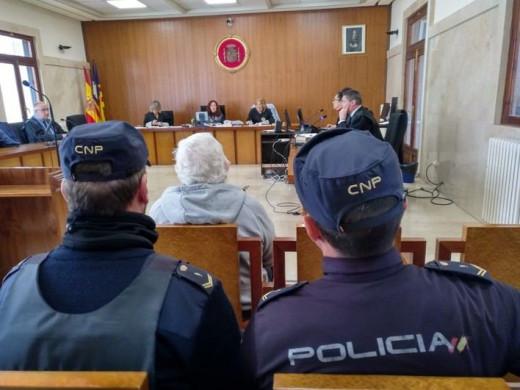 Imagen del juicio celebrado en Mallorca