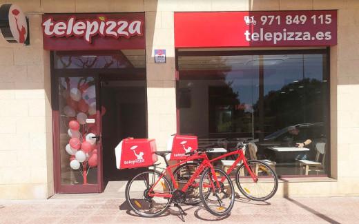 Nuevo servicio de Telepizza en Maó