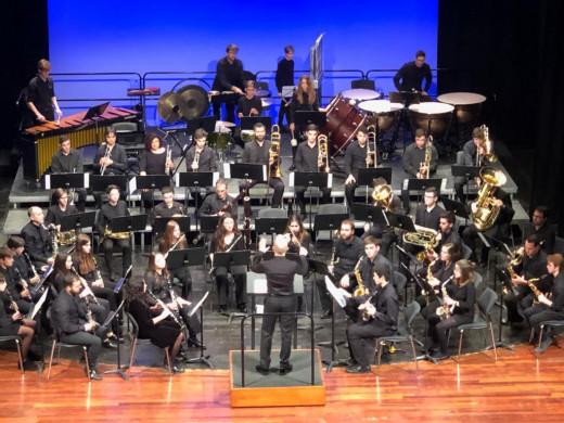 (Fotos) Gran concierto de la Banda de Música d'Alaior