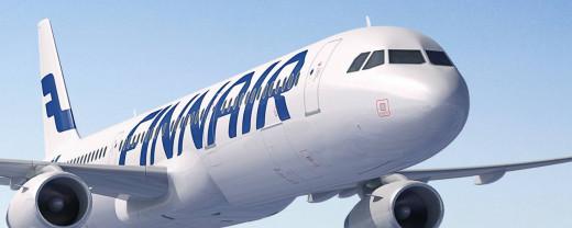 Imagen de un avión de la compañía aérea finlandesa