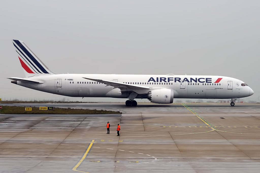 Avión de Air France.