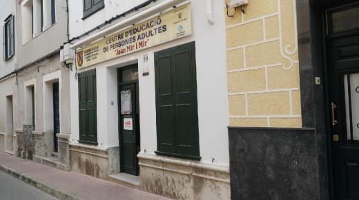 Actual sede de la Escuela de Adultos de Maó